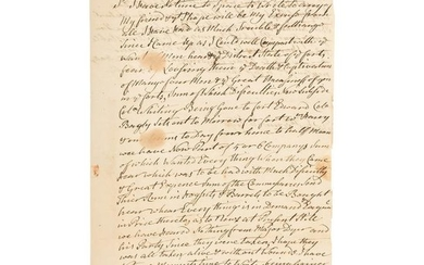 Extraordinary French and Indian War Letter, May 16,