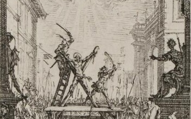 17TH C ETCHINGS LES PETITS APOTRES BY CALLOT