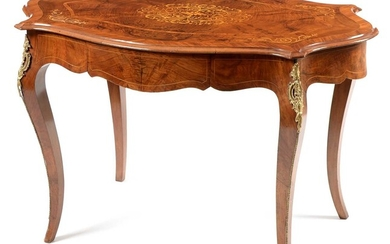 20th Century Louis XV style kingwood occasional table
