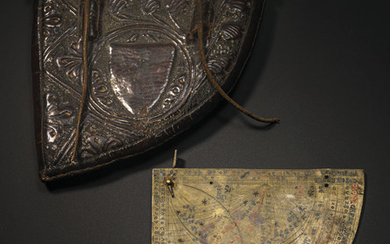 A HIGHLY IMPORTANT MEDIEVAL ASTROLABE QUADRANT, PROBABLY SOUTHERN FRANCE, 1291-1310