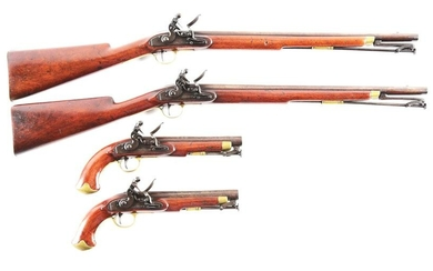 (A) LOT OF 4: SEQUENTIALLY REGISTERED RIGBY POLICE