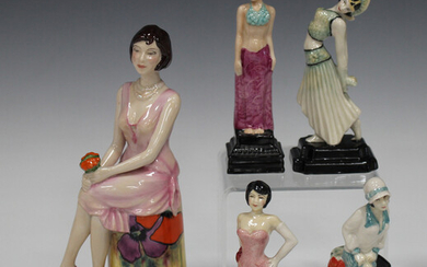 A Royal Doulton Peggy Davies limited edition figure Precious Moment, No. 152 of 250, height 19.5cm