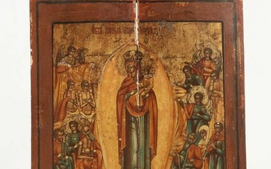 A Russian icon Mother of God