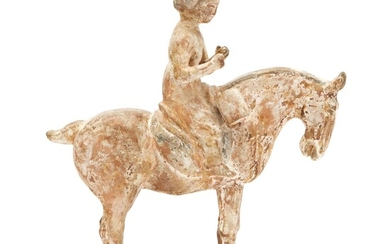 A Tang Dynasty horse and rider