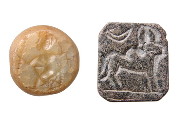A nice pair of ancient stone seals