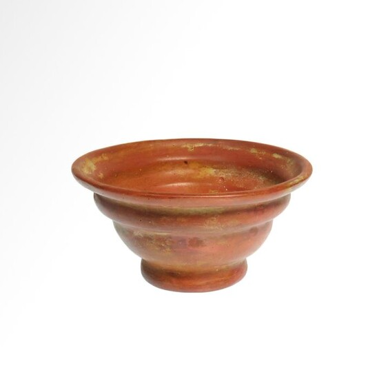 Ancient Egyptian Glass Patella Cup
