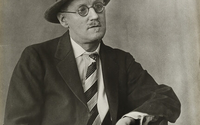BERENICE ABBOTT (1898 1991) James Joyce