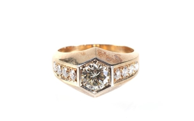 Brillant Ring zus. ca.1,40 ct