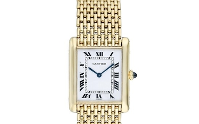 Cartier Tank Louis Extra Thin in 18K Gold