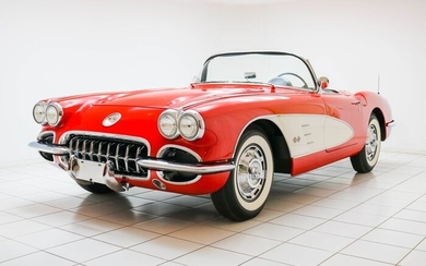Chevrolet - Corvette C1 Convertible - 1959