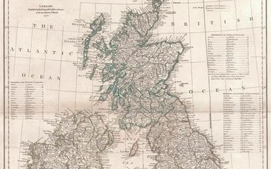 Compleat Map of the British Isles, Or Great Britain and