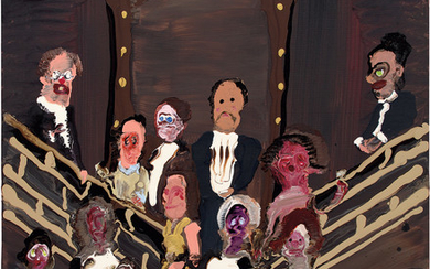 Genieve Figgis, Group Portrait on the Stairs