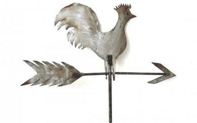 Graphic Rooster Weathervane