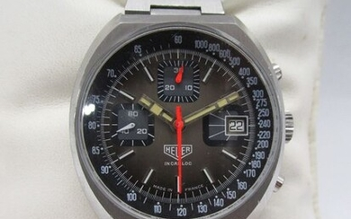 Heuer - ref. 1614 vintage Chronograph valjoux 7765 french made Monnin case - Men - 1970-1979