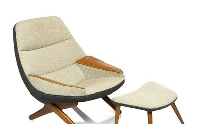Illum Wikkelso ML90 Lounge Chair and Ottoman (2)