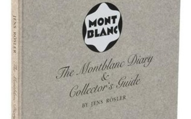 MONTBLANC DIARY and Collectors Guide by Rösler