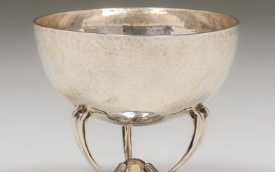 Mappin & Webb Sterling Silver Centerpiece Bowl 1909