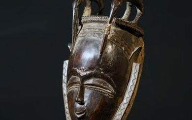 Mask - Wood - Yaure - Ivory Coast