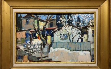 Oil painting Plum blossoms
