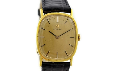 Omega Geneve Cal.625 Hand Wind Gold Plated Ladies Watch