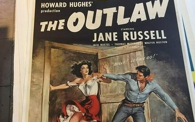 Outlaw, The (R.1945) US One Sheet Movie Poster LB