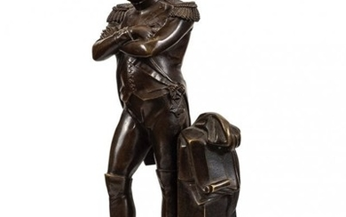 Patinated Bronze Sculpture of Napoleon