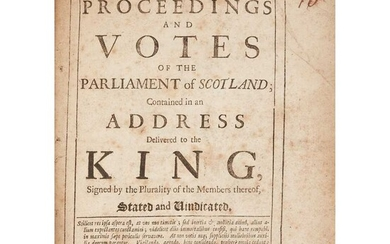 Scottish History, 17th century, a collection of 5 works, including Ferguson, Robert