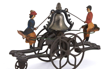 See-Saw Bell Ringer with Two Figures