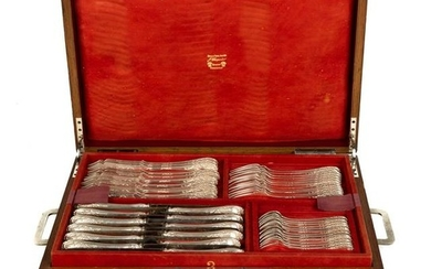 Set of Sterling Silver Flatware by Maison Puiforcat