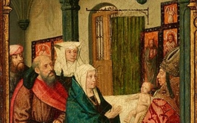 South Netherlandish School late 15th Century - The Presentation of Christ in the Temple