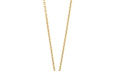 Van Cleef & Arpels Gold Heart Pendant-Necklace