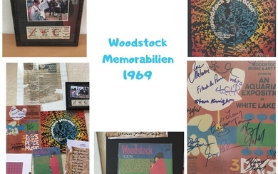 Various Artists/Bands in 1970's - Multiple artists - Signed memorabilia (original authograph) - 1969/1969