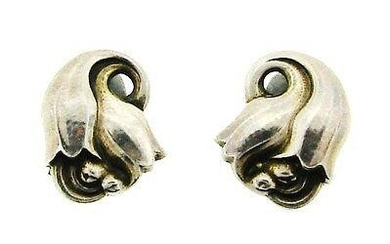 WOW Jensen Denmark Sterling Silver Earrings #100!