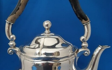 chocolate kettle - .800 silver - Lutz & Weis Pforzheim - Germany - Late 19th century