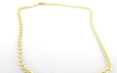 14k GOLD INTRICATE LINK ITALIAN CHAIN