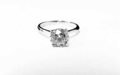 1.50ct diamond solitaire ring set in 18ct gold....