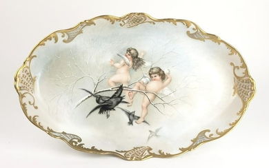 19th C. French Porcelain Tray