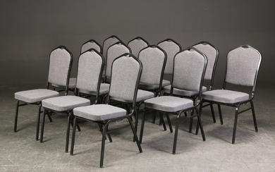 48 stackable conference chairs (48)