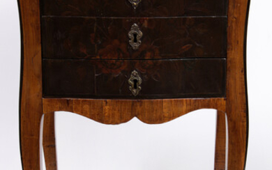 A French Provincial inlaid commode