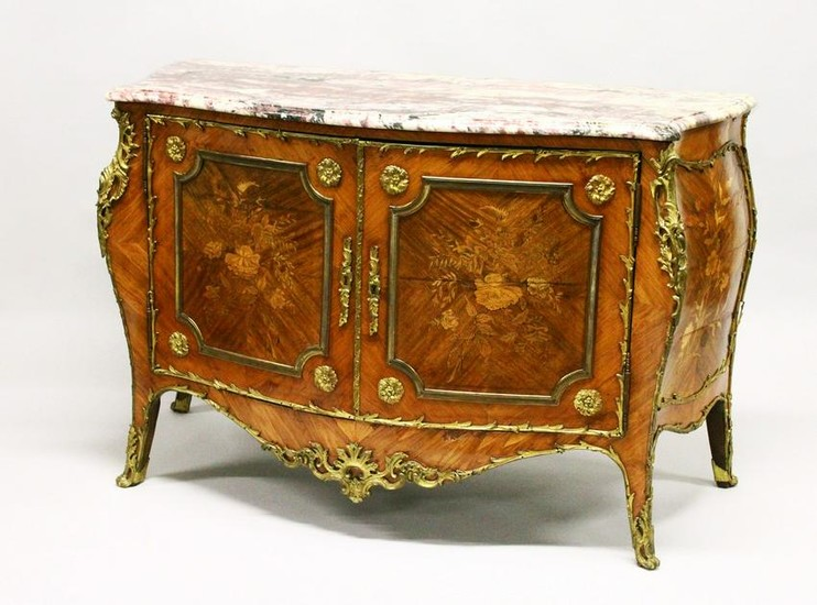 A SUPERB 19TH CENTURY LOUIS XVITH STYLE KINGWOOD AND