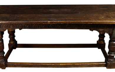 A Spanish Colonial refectory table
