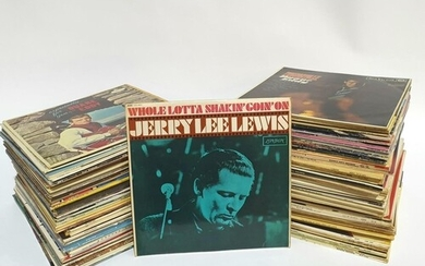 A large quantity of 1960s and later Rock & Roll LPs to inclu...