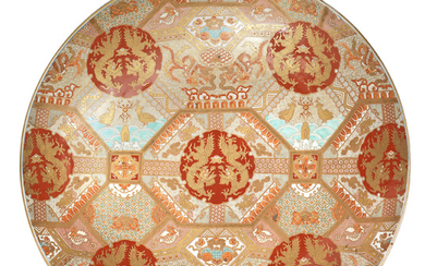 A very large and impressive Imari charger
