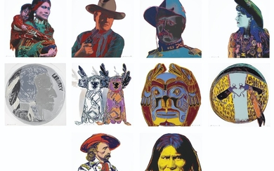 ANDY WARHOL (1928-1987), Cowboys and Indians