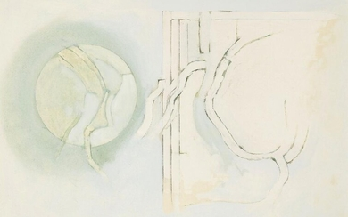 Adrian Heath, British 1920-1992- Untitled abstract composition,...