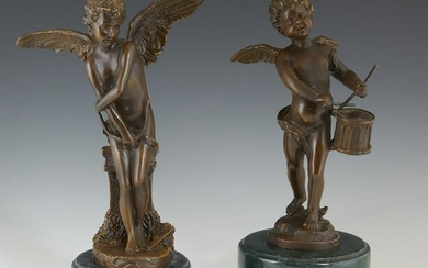"""After Auguste Moreau (1834-1917), """"The Winged Putto"""