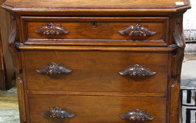 American Renaissance Revival chest of drawers