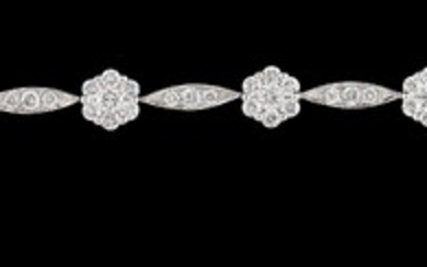Brillant Armband zus. ca. 2,85 ct