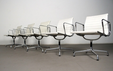 Charles & Ray Eames, Alu Chair conference chairs, model EA 107 /108 for Herman Miller / Vitra (5)