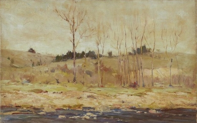 Chauncey Foster Ryder (American, 1868–1949) Riverside Signed bottom right,...